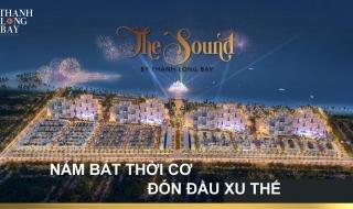 Phối cảnh phố thương mại The Sound - Thanh Long Bay Bình Thuận