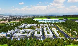 Phối cảnh dự án Long Thành Airport City