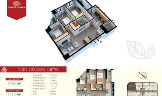 Mặt bằng chi tiết dự án Vinata Tower Hà Nội