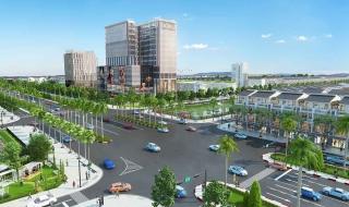 Phối cảnh dự án khu đô thị Bella Vista Long An