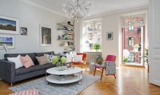 Ấn tượng với căn hộ đầy màu sắc xóa tan mùa đông
