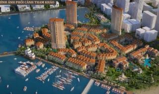 Phối cảnh dự án Harbor Bay Ha Long