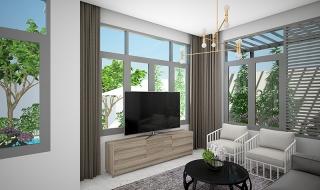 Căn nhà mẫu dự án Centana Điền Phúc Thành