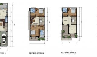 Mặt bằng chi tiết dự án tổ hợp biệt thự, nhà phố Venita Park quận 9