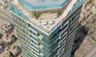 Phối cảnh tiện ích nội khu dự án condotel Fusion Suites Vũng Tàu