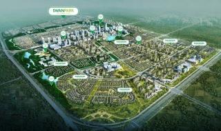 Thực tế tiến độ xây dựng khu đô thị Swanpark Sài Gòn