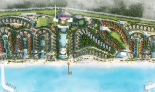 Phối cảnh dự án Edenia Resort Hồ Tràm