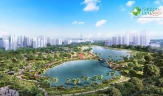 Thực tế dự án khu đô thị Saigon Eco Lake Long An
