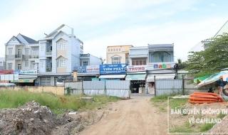 Tiến độ thi công dự án Nhà phố thị xã Bình Minh