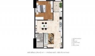 Mặt bằng chi tiết dự án Citrine Apartment
