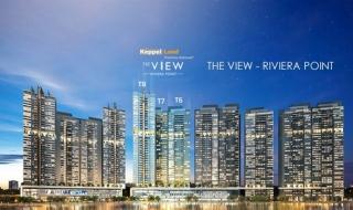 Tiến độ thi công dự án The View Riviera Point tháng 10/2018