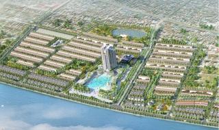 Phối cảnh dự án Green Dragon City Quảng Ninh