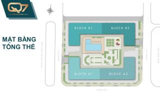 Mặt bằng chi tiết dự án căn hộ Q7 Boulevard