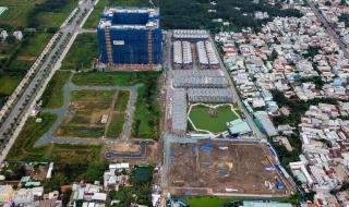 Tiến độ thi công dự án căn hộ Q7 Boulevard tháng 7/2019