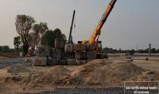 Tiến độ dự án Aqua City Đồng Nai tháng 2/2020