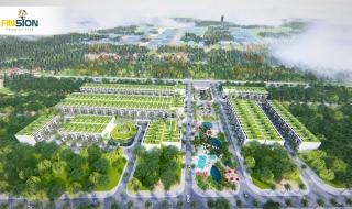 Phối cảnh dự án khu đô thị Finsion Complex City Quảng Nam
