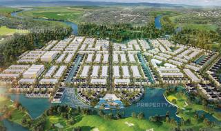 Mặt bằng chi tiết phân khu dự án khu đô thị Biên Hòa New City Đồng Nai
