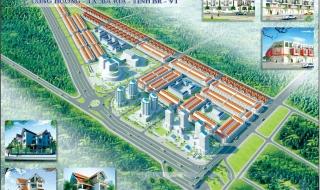 Phối cảnh dự án khu đô thị Baria City Gate tỉnh Bà Rịa - Vũng Tàu