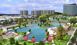 Phối cảnh tiện ích khu dân cư Canary City Thái Nguyên