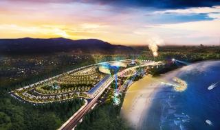Phối cảnh khu đô thị sinh thái biển AE Resort Cửa Tùng