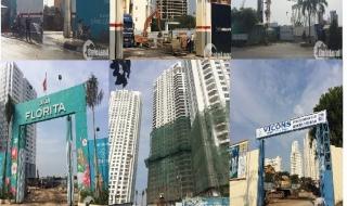 """""""Soi"""" tiến độ đầu năm loạt dự án lớn tại quận 7 tháng 1 - 2016"""