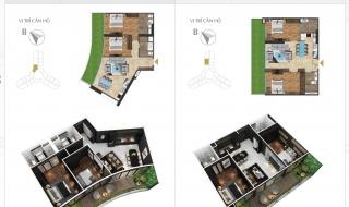 Mặt bằng chi tiết dự án căn hộ Sunshine Diamond River Quận 7