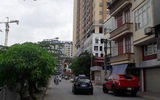 """Nhồi nhét chung cư trong phố nhỏ khiến người dân """"ngộp thở"""""""