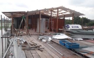 Hà Nội làm rõ sai phạm trật tự xây dựng tại hồ Đầm Trị