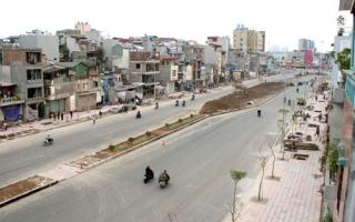Nhiều tuyến đường ở Hà Nội đắt kỷ lục vì giải phóng mặt bằng