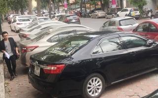 Gần 60 nghìn m2 vỉa hè Hà Nội biến thành bãi giữ xe