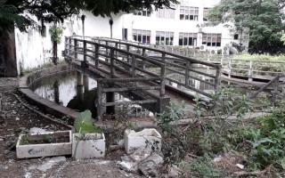 """Hải Phòng: Công viên Rồng Biển bỏ hoang, đất """"vàng"""" thành bãi rác"""