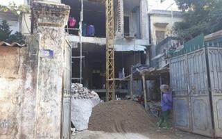 Phường Bưởi - Hà Nội: Nhắm mắt làm ngơ cho công trình xây dựng trái phép?
