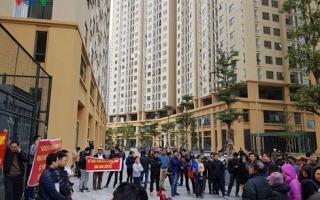 Cư dân chung cư 87 Lĩnh Nam tố chủ đầu tư vi phạm hợp đồng