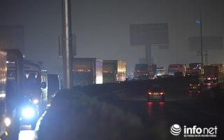 BOT Pháp Vân-Cầu Giẽ quyết thu phí dù tắc đường 7 giờ: Tổng cục Đường bộ nói gì?