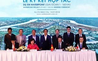 Nam Long bắt tay đối tác Nhật phát triển giai đoạn 1 Waterpoint