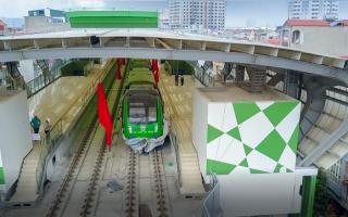 Ngày 20-9, sẽ chạy thử 2 chiều đường sắt Cát Linh – Hà Đông