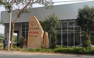 """Đình chỉ công trình xây dựng có bảng ghi """"Khu dân cư Alibaba Tân Thành"""""""