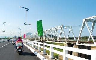 Phú Yên: Cuối tháng 3, thông xe cầu Đà Rằng hơn 340 tỉ đồng