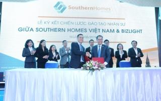 Southern Homes Việt Nam ký kết đào tạo nhân sự cùng BizLight