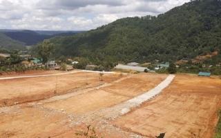 Vô tư san ủi đất, làm đường trái phép ở Đà Lạt
