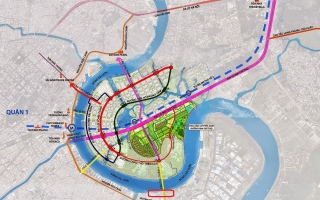 Tuyển chọn phương án thiết kế kiến trúc cầu Thủ Thiêm 4 nội Quận 2 và Quận 7