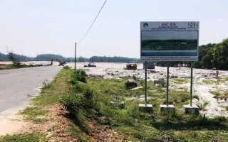 Thừa Thiên - Huế: Ðất cằn ven biển được 'thổi giá' tiền tỷ