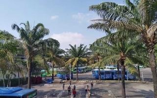 Đề xuất 2 ha tầng hầm Công viên 23-9 cho xe buýt