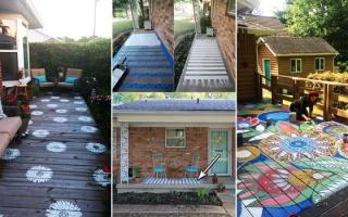 Xua tan nhàm chán, tạo không gian ấn tượng nơi hiên nhà
