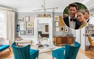 Ngắm nhà triệu đô sang trọng của cặp đôi John Krasinski và Emily Blunt