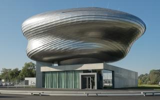 Ấn tượng trung tâm sự kiện hình trứng sắt dị dạng