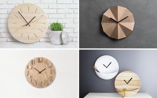 Những mẫu đồng hồ treo tường ấn tượng đến khó tin