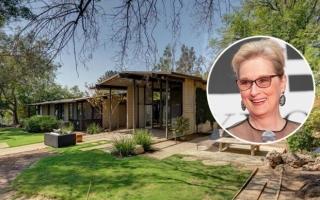 Bên trong căn nhà 3,3 triệu USD của nữ diễn viên Meryl Streep