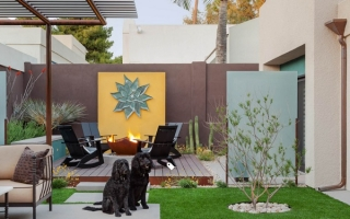 Thêm sức sống cho không gian ngoại thất với cỏ nhân tạo
