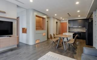 Khám phá căn hộ tích hợp không gian nổi bật trên báo Mỹ